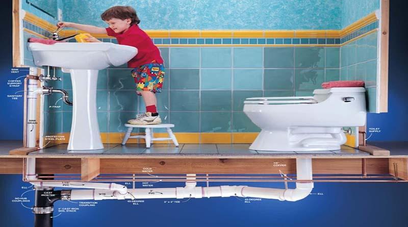 Cách làm sạch đường ống nước nhà vệ sinh gia đình