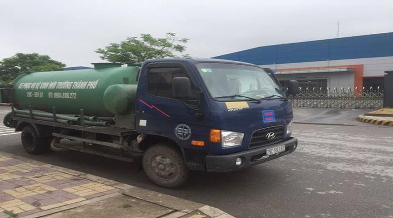 Công ty hút bể phốt tại Thái Nguyên