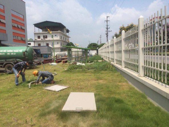 Công ty hút bể phốt tại khu đô thị Ecopark