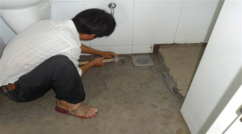 Dịch vụ chống thấm nhà vệ sinh
