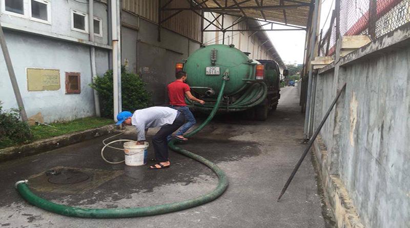 Dịch vụ hút bể phốt cho khu công nghiệp