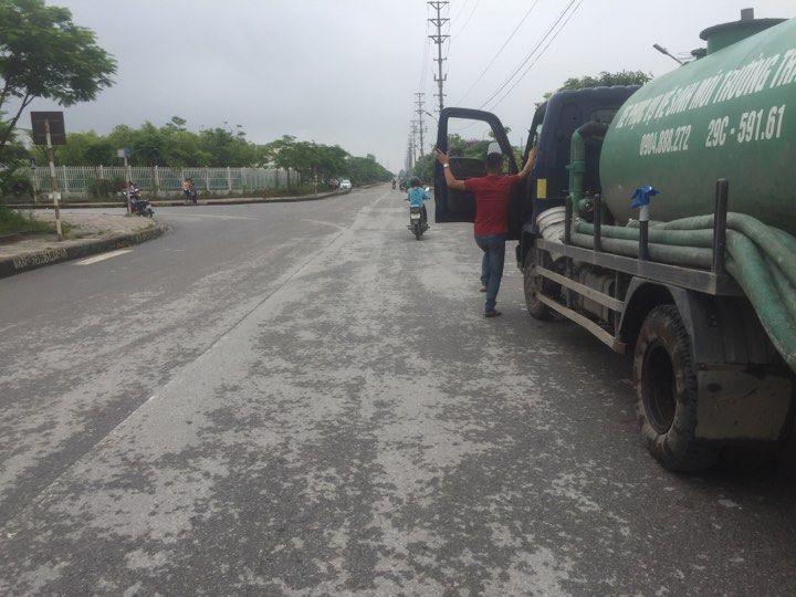 Dịch vụ hút bể phốt tại đường Nguyễn Trãi