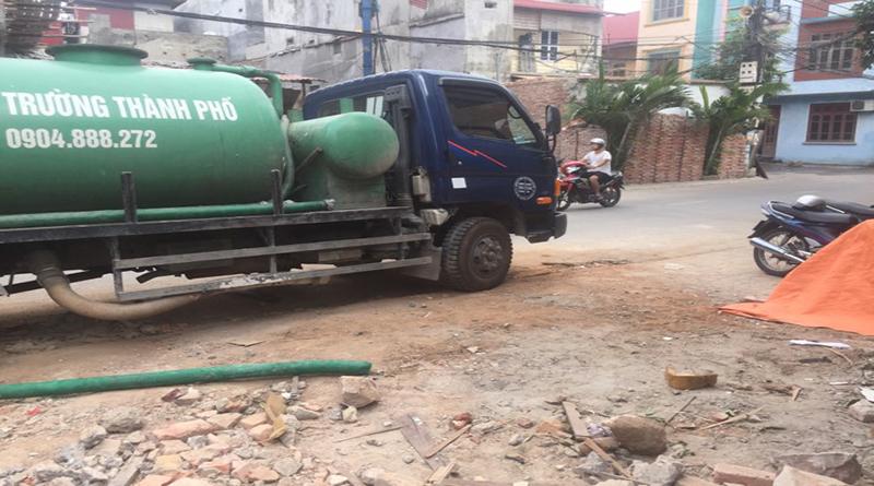 Dịch vụ hút bể phốt tại Bắc Giang giá rẻ nhất