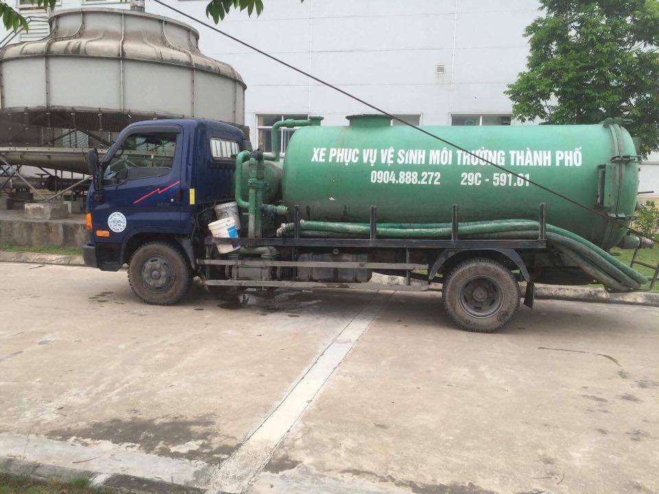 Dịch vụ hút bể phốt tại Dương Nội