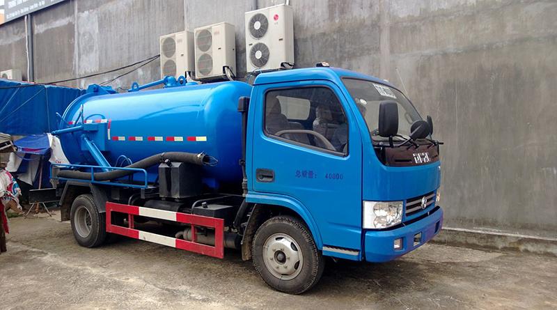 Dịch vụ hút bể phốt tại Hạ Đình