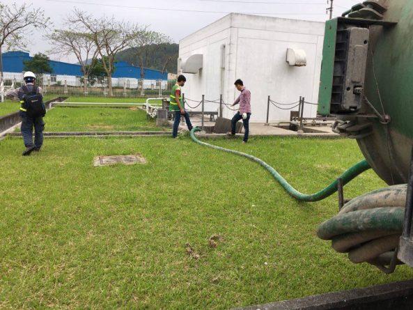 Dịch vụ hút bể phốt tại KCN Ngọc Hồi