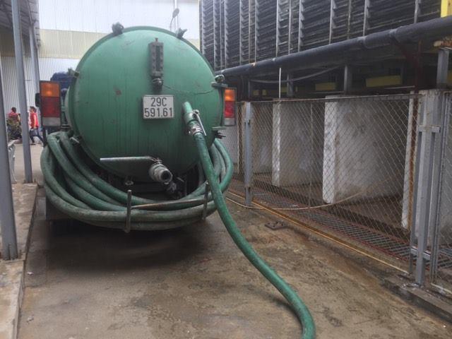 Dịch vụ hút bể phốt tại Khương Mai
