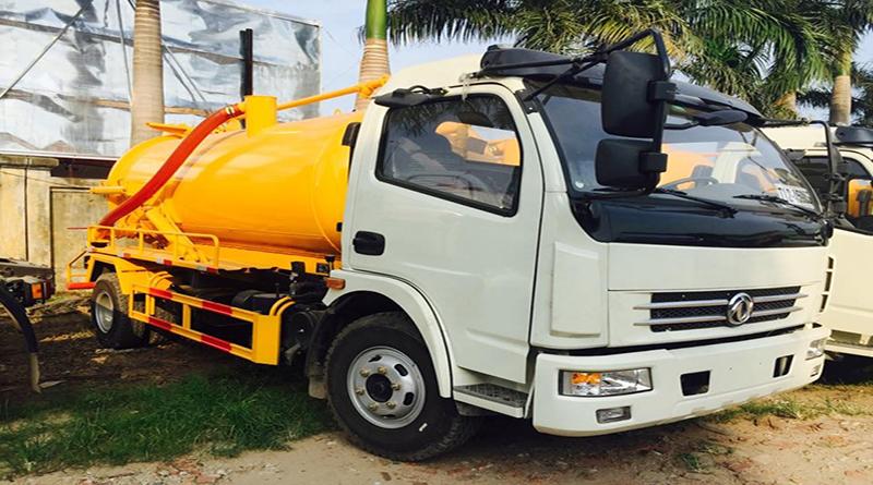 Dịch vụ hút bể phốt tại Nguyễn Phong Sắc