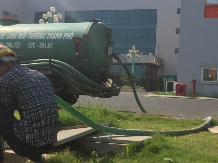 Dịch vụ hút bể phốt tại Trung Hòa