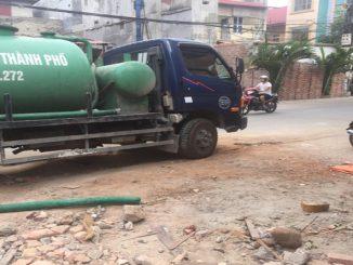 Dịch vụ hút bể phốt tại chùa Bộc