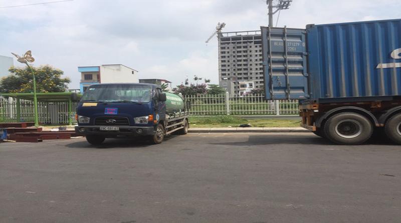 Dịch vụ hút bể phốt tại phường Tam Trinh