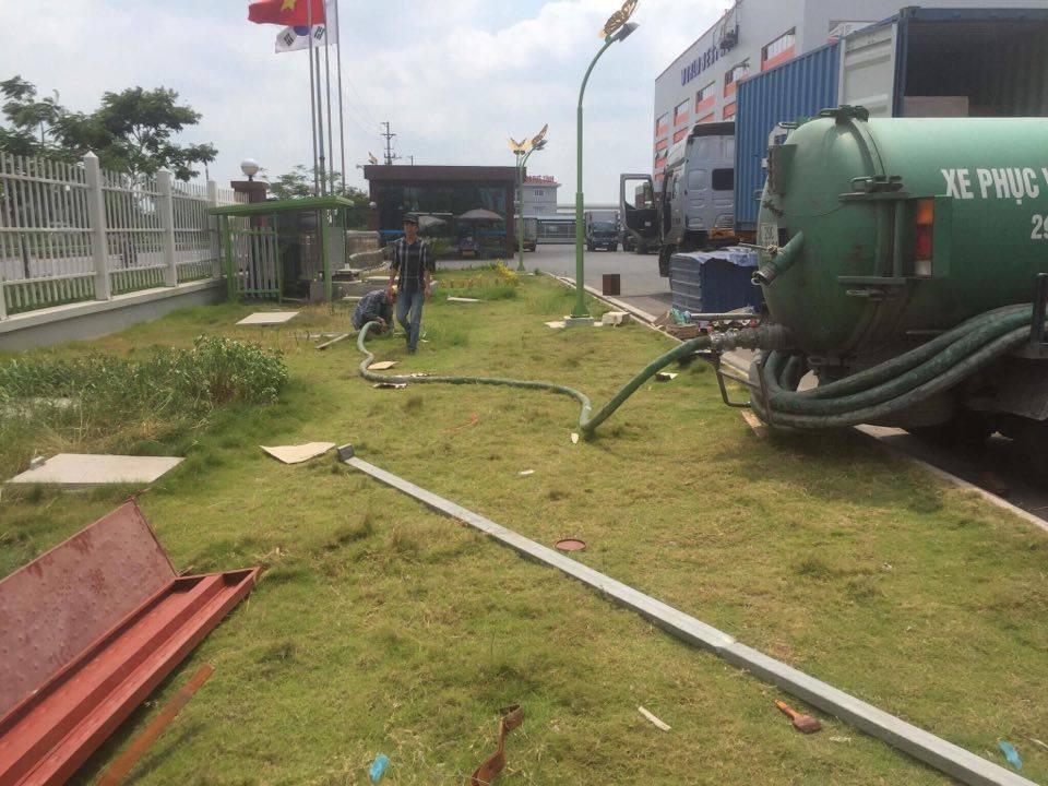 Dịch vụ hút bể phốt tại phường Văn Quán