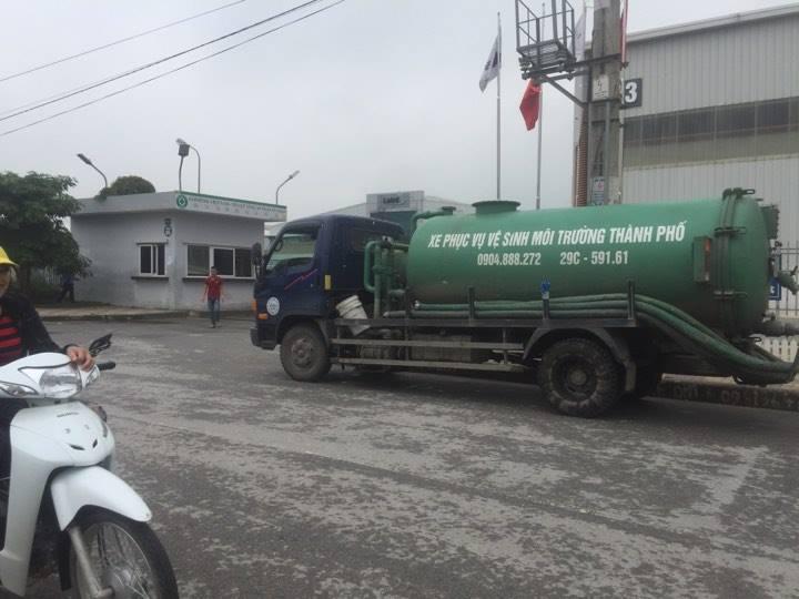 Dịch vụ hút bể phốt tại phố Nguyễn Tuân
