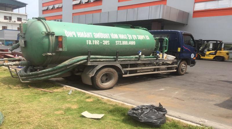 Dịch vụ hút bể phốt tại phố Trần Quốc Hoàn