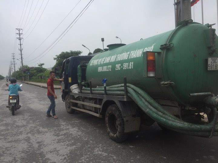 Dịch vụ hút bể phốt tại quận Từ Liêm