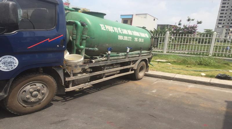 Dịch vụ hút bể phốt tại thị trấn Sóc Sơn
