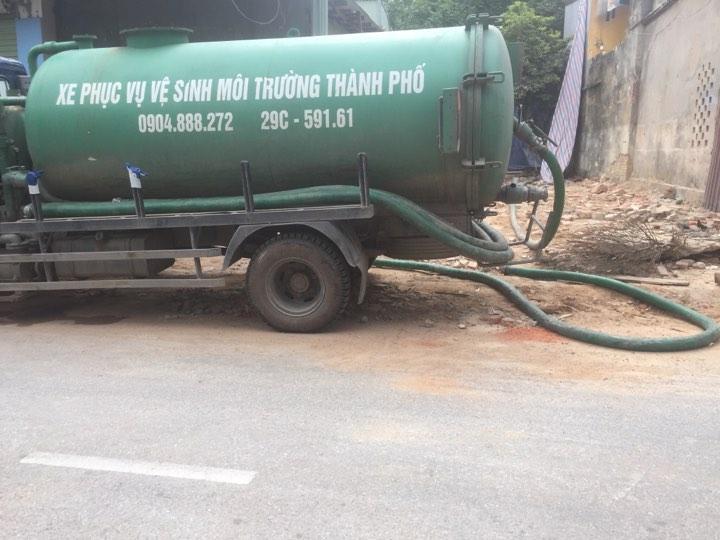 Dịch vụ thông hút bể phốt ở phường Mộ Lao