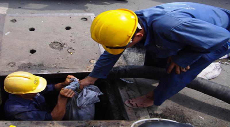 Dịch vụ thông tắc cống tại Thanh Oai