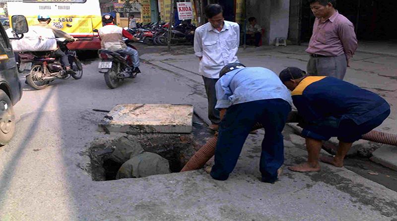 Hút bể phốt tại đường Xuân Thủy