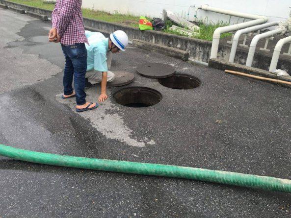 Hút bể phốt tại Trần Đăng Ninh