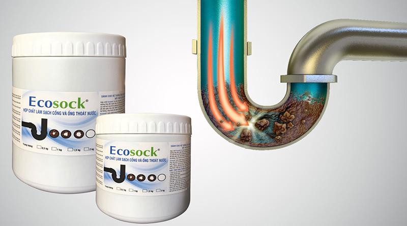 Sử dụng dung dịch hóa chất để làm sạch đường ống nước sinh hoạt