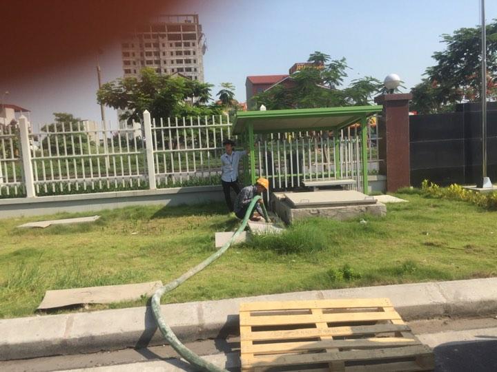 Thông hút bể phốt tại Phú Lãm