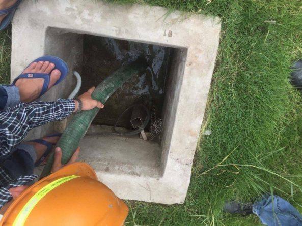 Thông hút bể phốt tại Thượng Đình