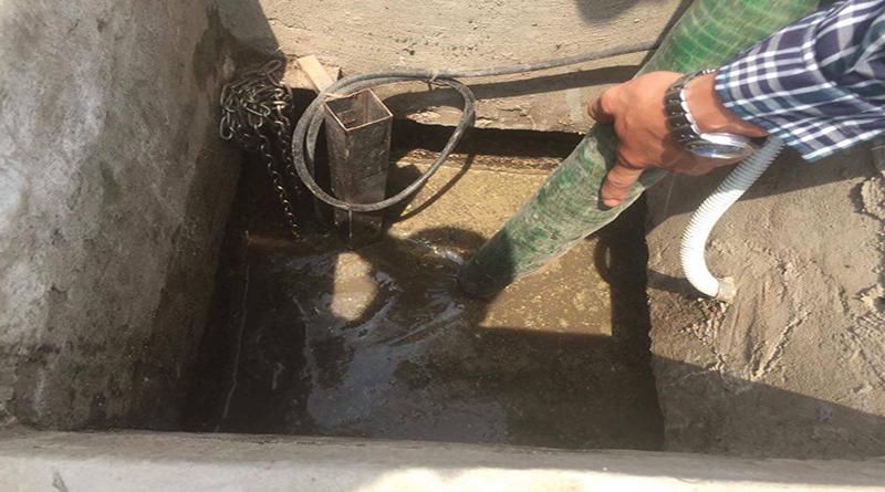 Thông tắc hút bể phốt tại khu công nghiệp Văn Giang
