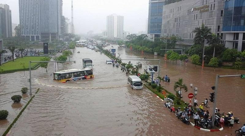Biểu hiện của biến đổi khí hậu ở Việt Nam - Mưa lớn
