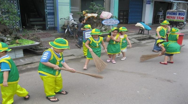 Các biện pháp bảo vệ môi trường của học sinh