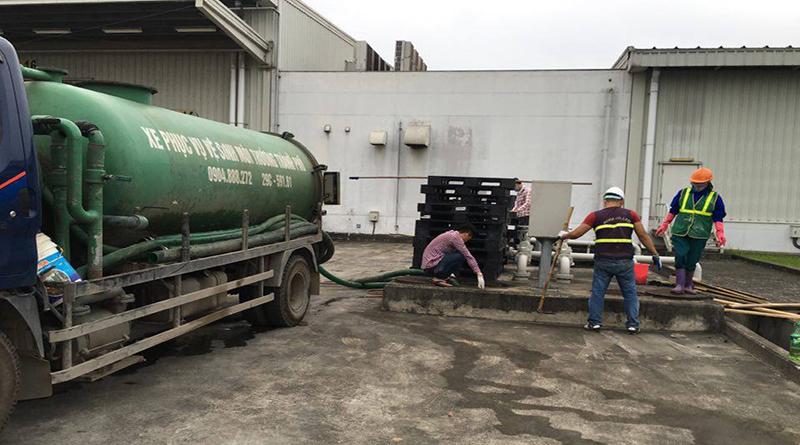 Công ty hút bể phốt tại tỉnh Hải Dương