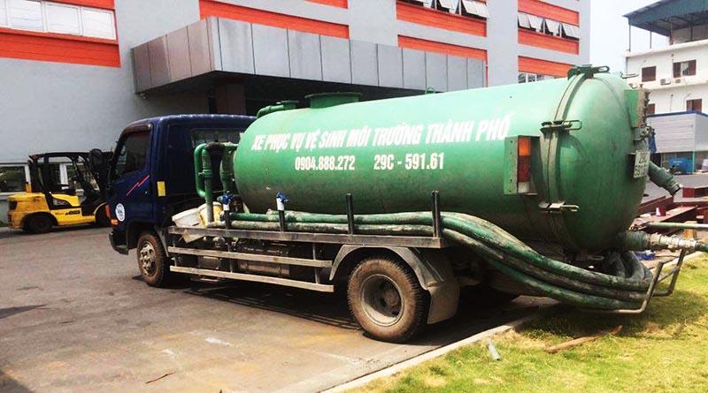 Công ty hút bể phốt tại tỉnh Lào Cai