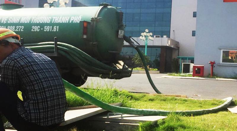 Công ty hút bể phốt tại Mê Linh