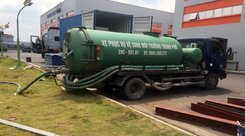 Dịch vụ hút bể phốt giá rẻ tại tỉnh Thanh Hóa