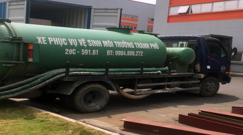 Địa chỉ công ty hút bể phốt tại Lào Cai