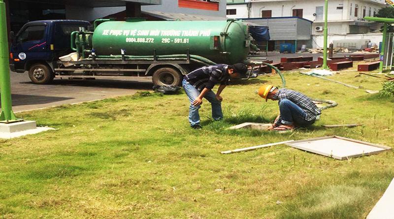 Dịch vụ hút bể phốt tại khu công nghiệp tỉnh vĩnh phúc