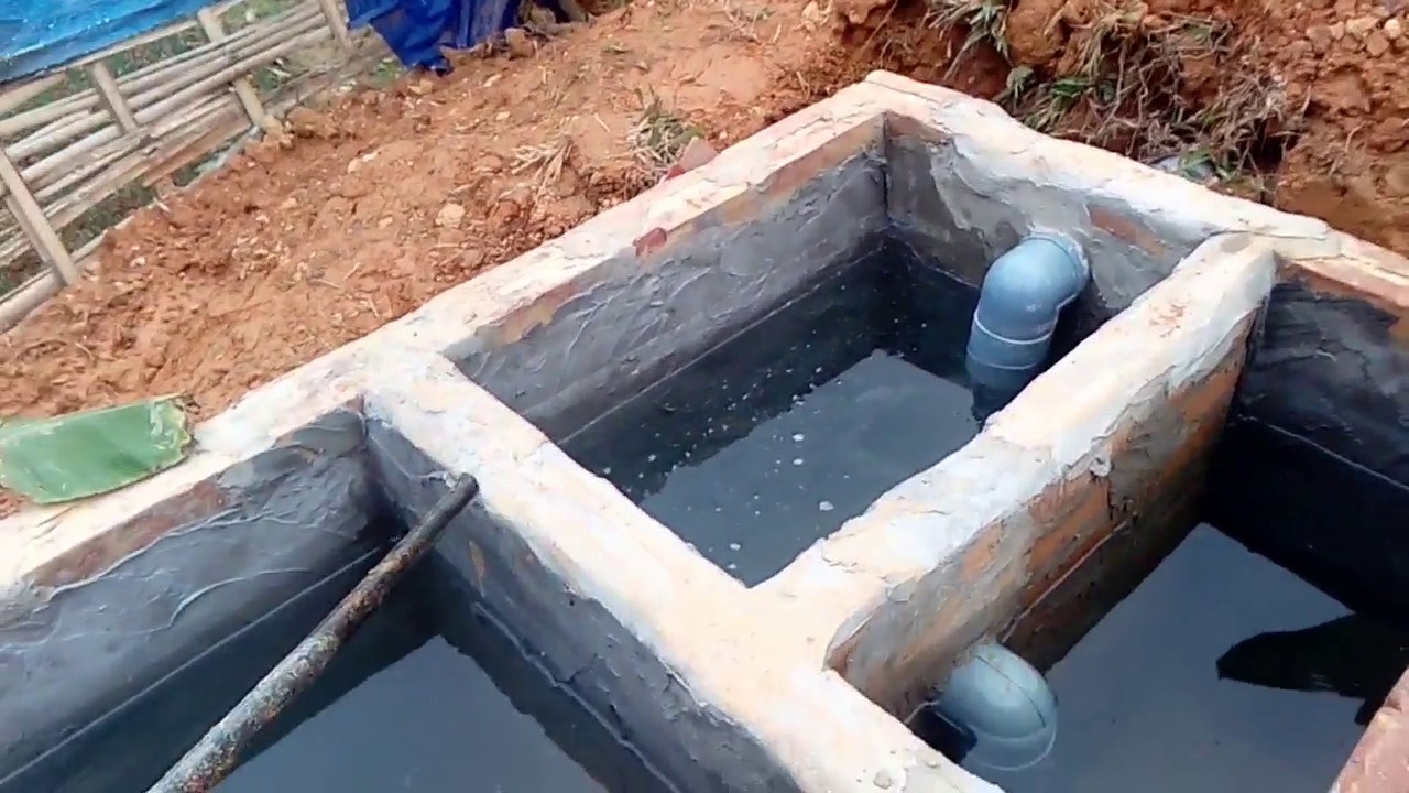 Hình ảnh cách đặt ống bồn cầu