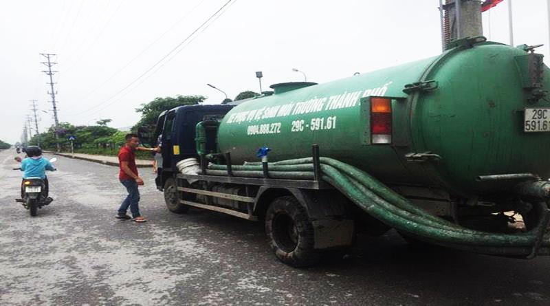 Dịch vụ hút bể phốt tại tỉnh Quảng Ninh