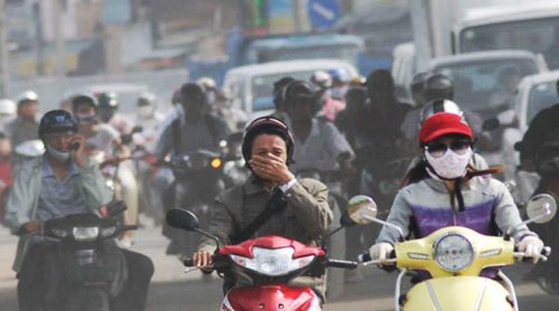 Khí thải từ hoạt động giao thông gây biến đổi khí hậu