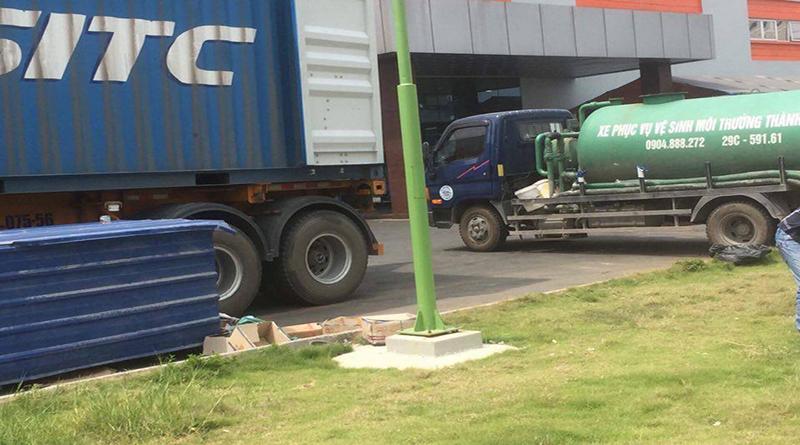 Quy trình hút bể phốt tại Thanh Hóa